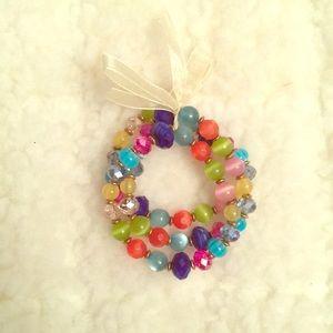 Bundle 3 for $15! Colorful Beaded Bracelet Trio